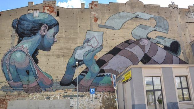 Lodz street art