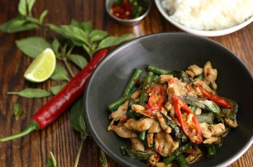 Sokak yemeği tayland